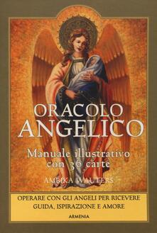 Radiospeed.it Oracolo angelico. Operare con gli angeli per riceverne guida, ispirazione e amore. Con 36 carte. Con Carte Image