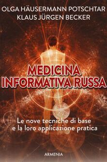 Criticalwinenotav.it Medicina informativa russa. Le nove tecniche di base e la loro applicazione pratica Image