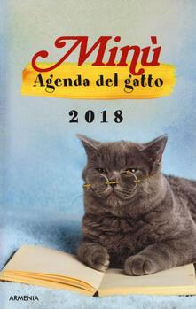 Premioquesti.it Minù. Agenda del gatto 2018 Image