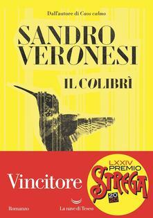 Il colibrì - Sandro Veronesi - copertina
