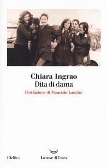Dita di dama - Chiara Ingrao - copertina