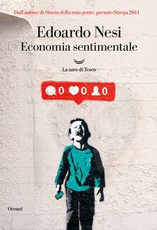 Economia sentimentale - Edoardo Nesi - copertina