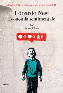 Economia sentimentale - Edoardo Nesi - ebook