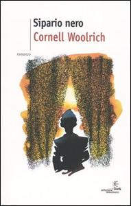 Libro Sipario nero Cornell Woolrich