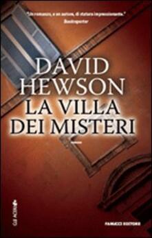 La villa dei misteri - David Hewson - copertina