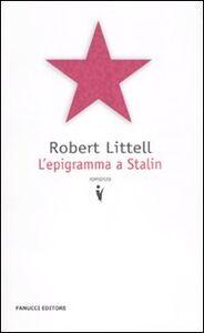 Libro L' epigramma a Stalin Robert Littell