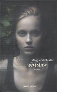 Libro Whisper Maggie Stiefvater