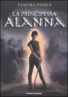 La principessa Alanna - Tamora Pierce - copertina