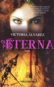 Libro Eterna Victoria Álvarez