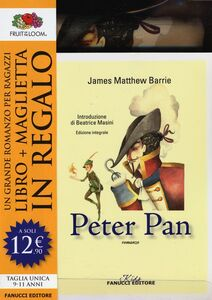Libro Peter Pan. Ediz. integrale. Con gadget James M. Barrie