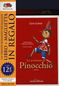 Foto Cover di Le avventure di Pinocchio. Ediz. integrale. Con gadget, Libro di Carlo Collodi, edito da Fanucci