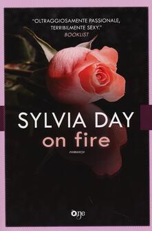 On fire - Sylvia Day - copertina