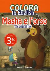 Colora in english. Masha e l'orso. The original tale