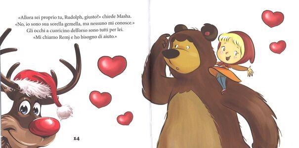 Libro Rudolph e il mistero della renna dal naso rosso. Masha e l'orso  4