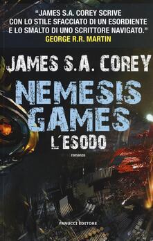 Librisulladiversita.it L' esodo. Nemesis games Image