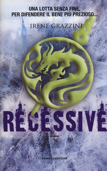 Recessive - Irene Grazzini - copertina