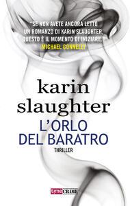 L' orlo del baratro - Karin Slaughter - copertina