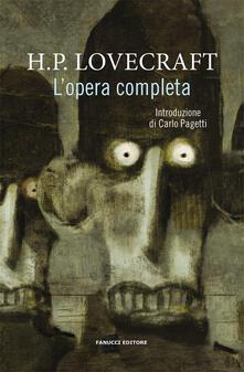 L' opera completa - Howard P. Lovecraft - copertina