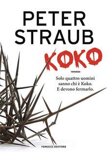 Koko. Trilogia della rosa blu. Vol. 1 - Peter Straub - copertina