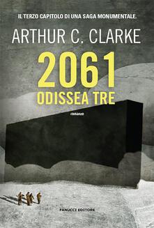 2061: odissea tre - Arthur C. Clarke - copertina