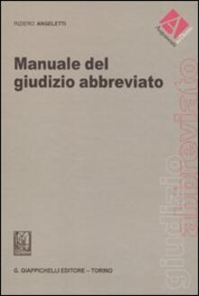 Camfeed.it Manuale del giudizio abbreviato Image