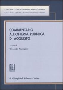 Commentario all'offerta pubblica di acquisto - copertina