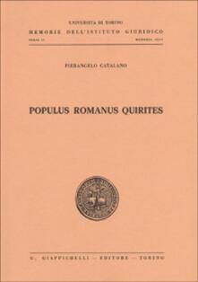 Tegliowinterrun.it Populus romanus quirites Image