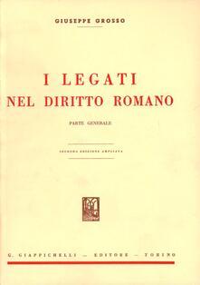 Festivalpatudocanario.es I legati nel diritto romano. Parte generale Image
