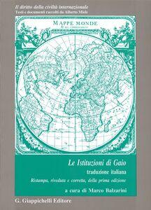 Libro istituzioni Gaio