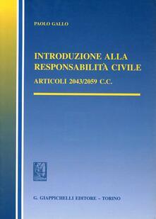 Antondemarirreguera.es Introduzione alla responsabilità civile. Articoli 2043-2059 del Codice civile Image