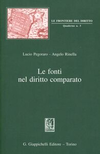 Libro Le fonti nel diritto comparato Lucio Pegoraro , Angelo Rinella