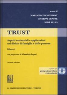 Winniearcher.com Trust. Con CD-ROM. Vol. 1: Aspetti sostanziali e applicazioni nel diritto di famiglia e delle persone. Image