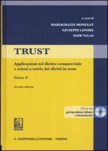 Radiospeed.it Trust. Con CD-ROM. Vol. 2: Applicazioni nel diritto commerciale e azioni a tutela dei diritti in trust. Image