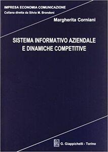 Libro Sistema informativo aziendale e dinamiche competitive Margherita Corniani