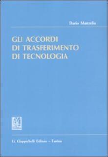 Gli accordi di trasferimento di tecnologia.pdf