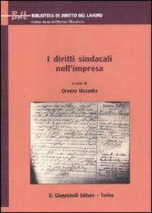 Libro I diritti sindacali nell'impresa