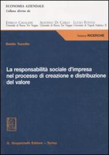 Ristorantezintonio.it La responsabilità sociale d'impresa nel processo di creazione e distribuzione del valore Image