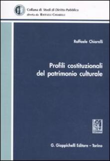 Premioquesti.it Profili costituzionale del patrimonio culturale Image