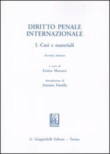 Amatigota.it Diritto penale internazionale. Vol. 1: Casi e materiali. Image