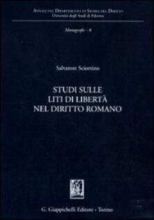 Vitalitart.it Studi sulle liti di libertà nel diritto romano Image