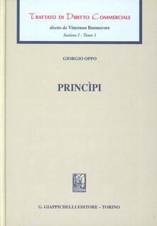 Rallydeicolliscaligeri.it Trattato di diritto commerciale. Sez. I. Vol. 1: Principi. Image