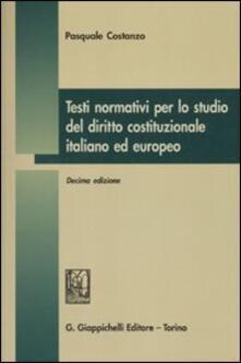 Testi normativi per lo studio del diritto costituzionale italiano ed europeo.pdf