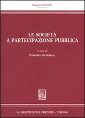 Le società a partecipazione pubblica