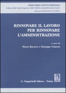 Rinnovare il lavoro per rinnovare lamministrazione.pdf