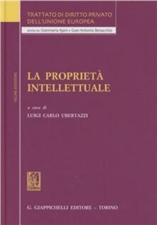 Radiospeed.it Trattato di diritto privato dell'Unione Europea. Vol. 12: La proprietà intellettuale. Image