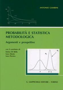 Voluntariadobaleares2014.es Probabilità e statistica metodologica. Argomenti e prospettive Image