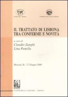 Winniearcher.com Il trattato di Lisbona tra conferme e novità. Messina 26-27 giugno 2009 Image