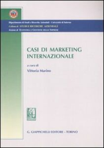 Libro Casi di marketing internazionale