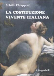 Mercatinidinataletorino.it La Costituzione vivente italiana Image
