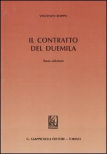 Il contratto del duemila - Vincenzo Roppo - copertina